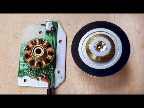 How to Run The Brushless CD ROM Motor - Fırçasız motor nasıl çalışır!!!