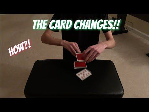 The Magic PORTAL Trick! INSANE Card Trick Performance/Tutorial thumbnail