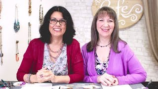 Artbeads Cafe - Live: Fun with Czech Glass Beads featuring Cynthia Kimura and Cheri Carlson