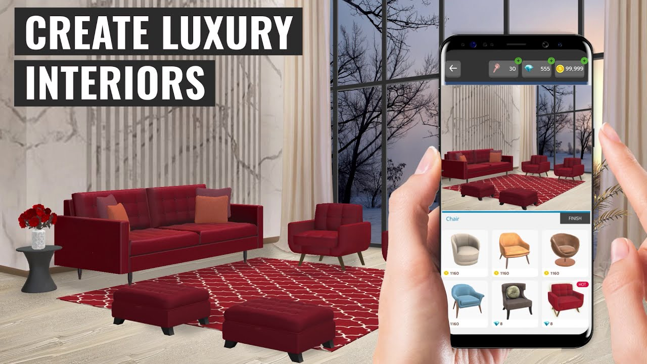 Home Makeover: Decorate & Design Your Dream House | New Game For Android & iOS | Trailer
