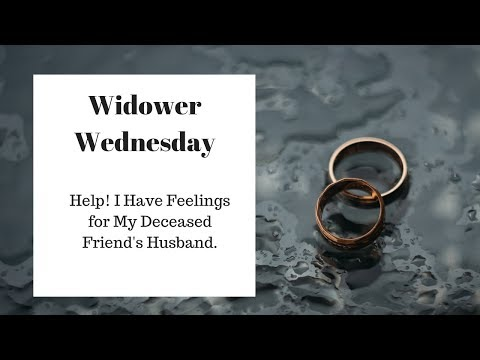dating my friend's widower