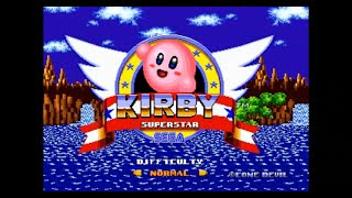 Sonic Hack Longplay - Kirby in Sonic the Hedgehog