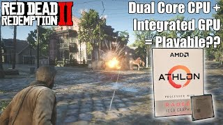 Can You Play Red Dead Redemption 2 On AMD's $55 Athlon 200GE APU?