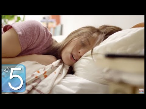 Top 5 Ways to Sleep Like a Baby w/ Elizabeth - HASfit How to Sleep Better - Improve Beat Insomnia