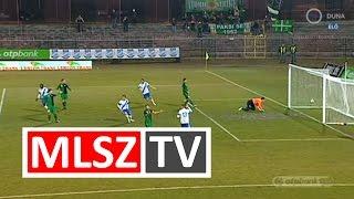 Pölöskei Zsolt gólja az MTK Budapest - MVM Paks mérkőzésen