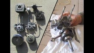 Démontage / Remontage complet moteur MBK 51 (Partie1)