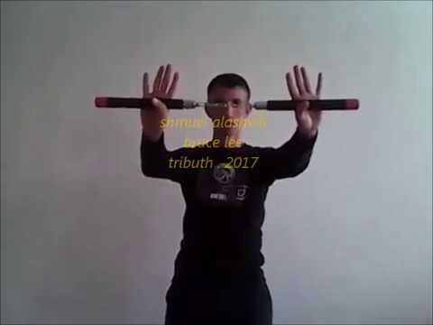 מודרני ברוס לי . מחווה ולימוד נונצ'קו . bruce lee tributhe - YouTube JT-27