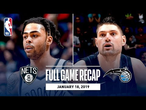 Full Game Recap: Nets vs Magic | D'Angelo Russell Drops 40 In Orlando