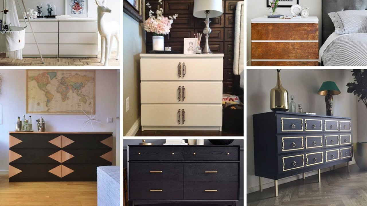 20 DIY IKEA MALM DRESSER HACK IDEAS