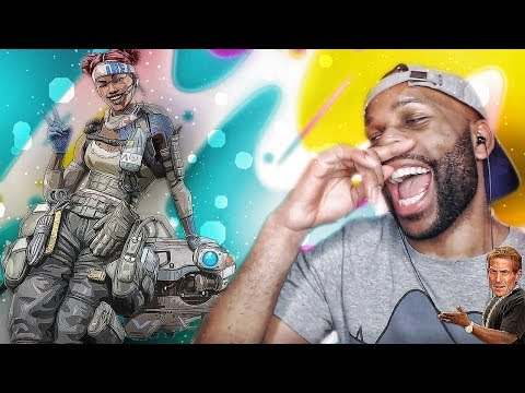 WHEN YOU JINX THE SQUAD LOL! - A Day on Apex Legends #1