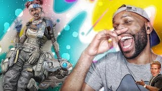 WHEN YOU JINX THE SQUAD LOL! A Day on Apex Legends #1