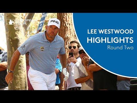 Lee Westwood Highlights   Round 2   2018 ISPS Handa World Super 6 Perth