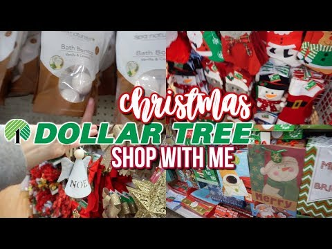 DOLLAR TREE HOLIDAY/CHRISTMAS 2018 SHOP WITH ME & HAUL!!