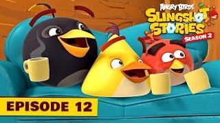 Angry Birds Slingshot Stories S2 | Rain rain, go away! Ep.12