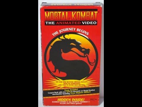 mortal kombat the journey begins vhs