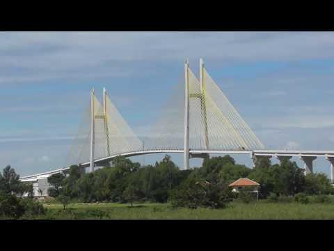 Neak Loeung Bridge (ស្ពានអ្នកលឿង) Cambodia