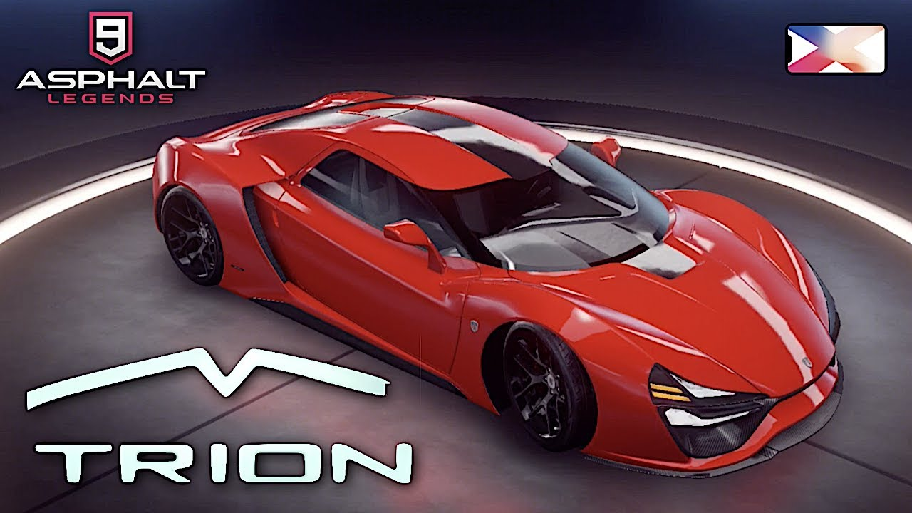 Asphalt 9 Legends Trion Nemesis Unlocked Gameplay Youtube