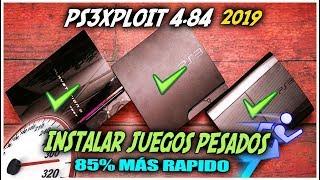 🛠️ PS3Xploit 4.84 instalar juegos pesados SUPER RAPIDO!!!   2019