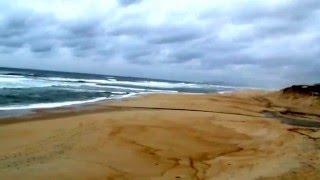 Побережье Атлантического океана зимой