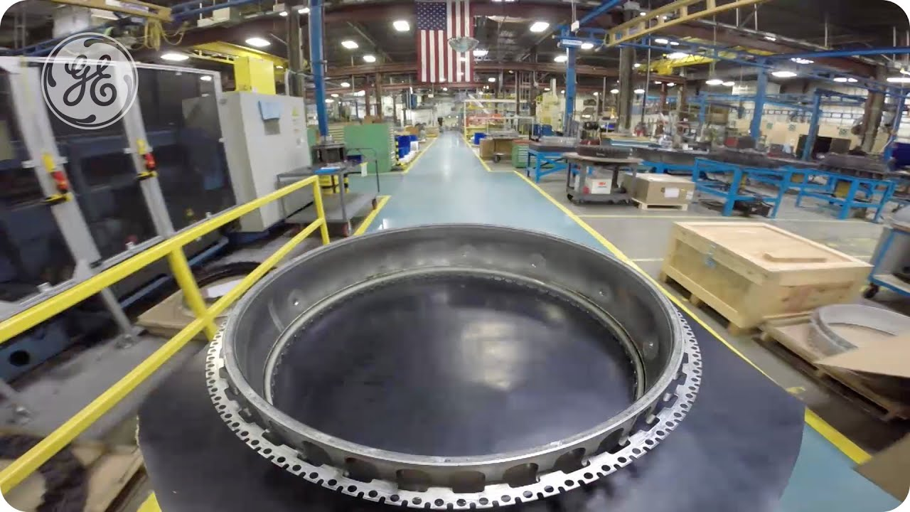 How GE Makes Filthy Aircraft Engine Parts Look Good as New