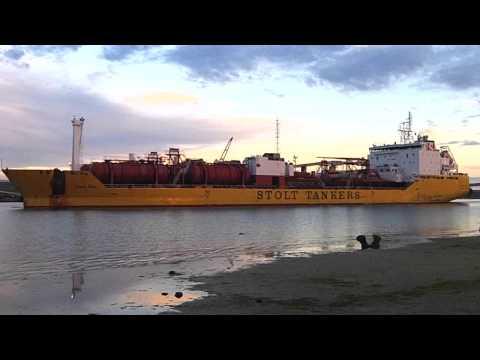 Port Adelaide Shipping _ (548) Stolt Sun