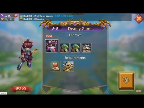 Lords Mobile Challenge 3-8