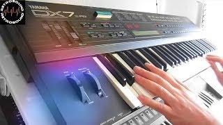 YAMAHA DX7 II FM with Grey Matter E! FM Synthesizer (1987) *Exhale*