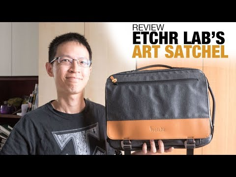Review: Etchr Lab's Art Satchel (A Portable Studio?)