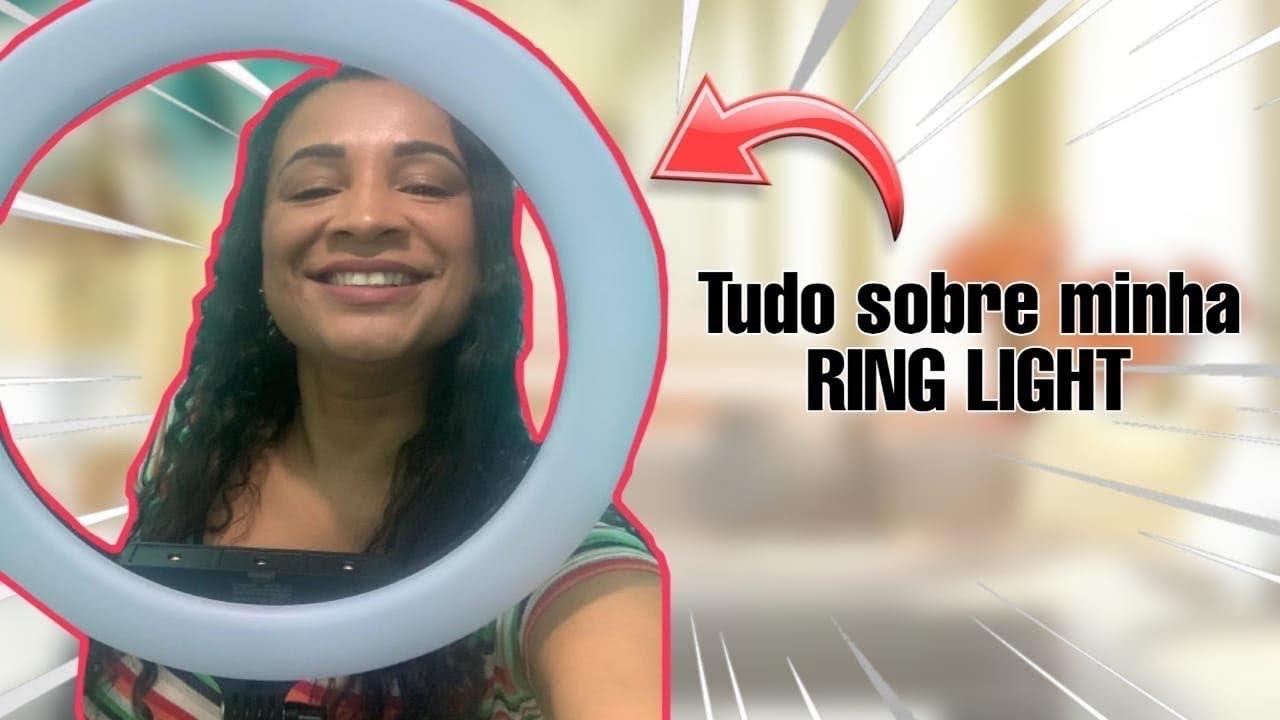 MEU RING LIGHT CHEGOU!! ????CONTEI TUDINHO PARA VOCÊS.????- UNBOXING