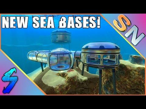 Subnautica Gameplay | NEW SEA BASES, AQUARIUM & MORE!! | HD 60FPS