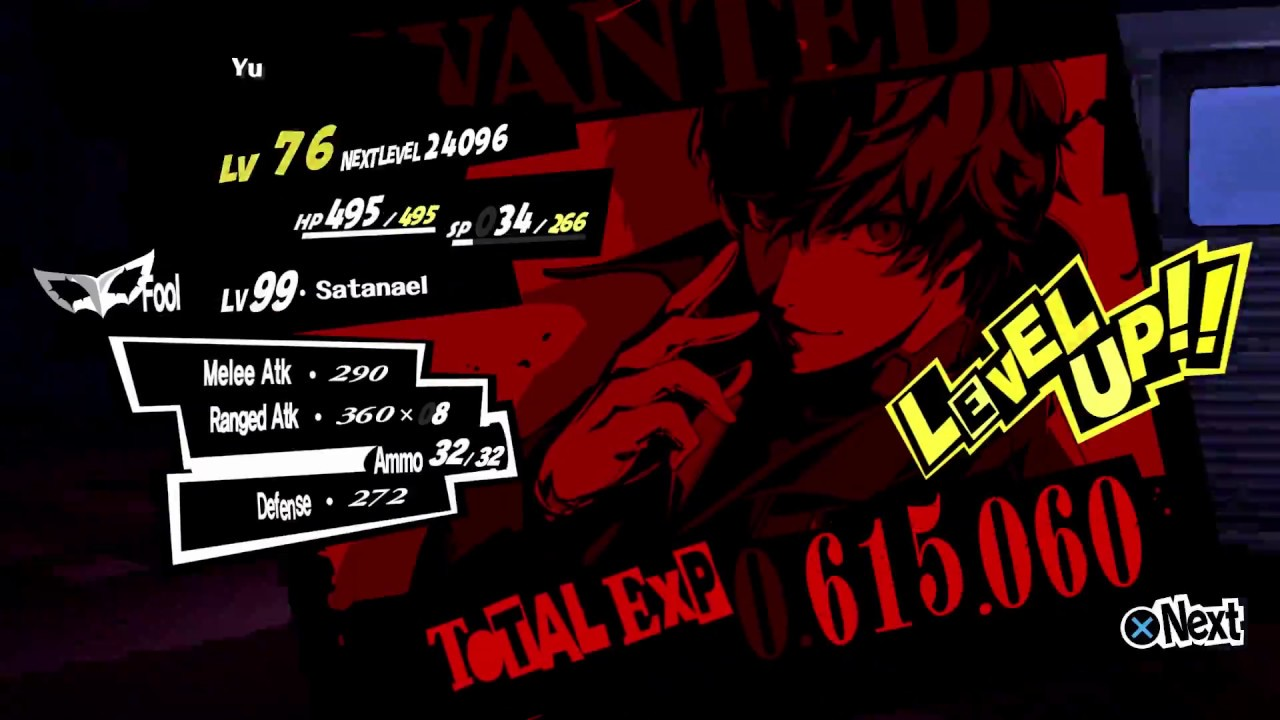 Persona 5 No Flu Reaper Farming Ng Early Experience Farm Level