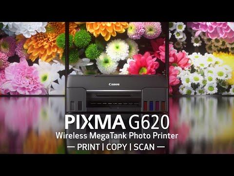 Meet the Canon PIXMA G620 Wireless MegaTank Photo Printer