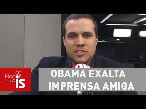 Felipe Moura Brasil: Obama Exalta Imprensa Amiga, A única Traduzida No Brasil
