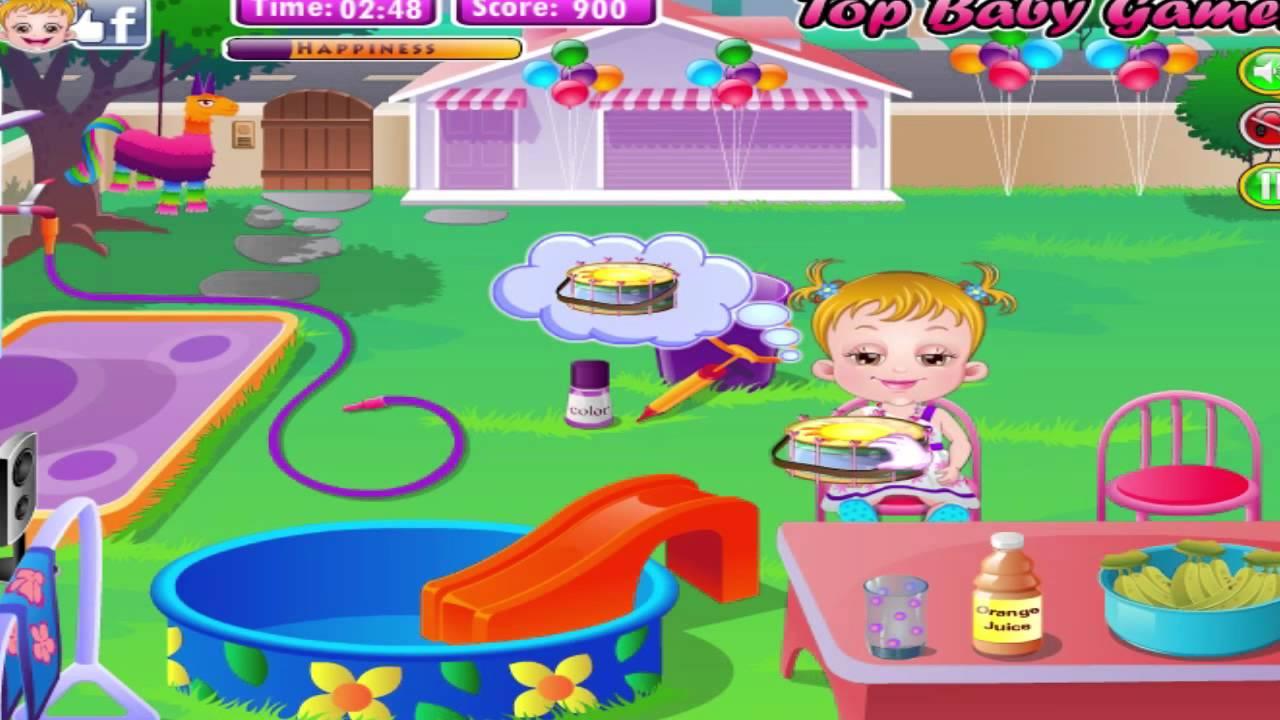 Baby Hazel Game Movie - Baby Hazel Backyard Party Level 2 ...
