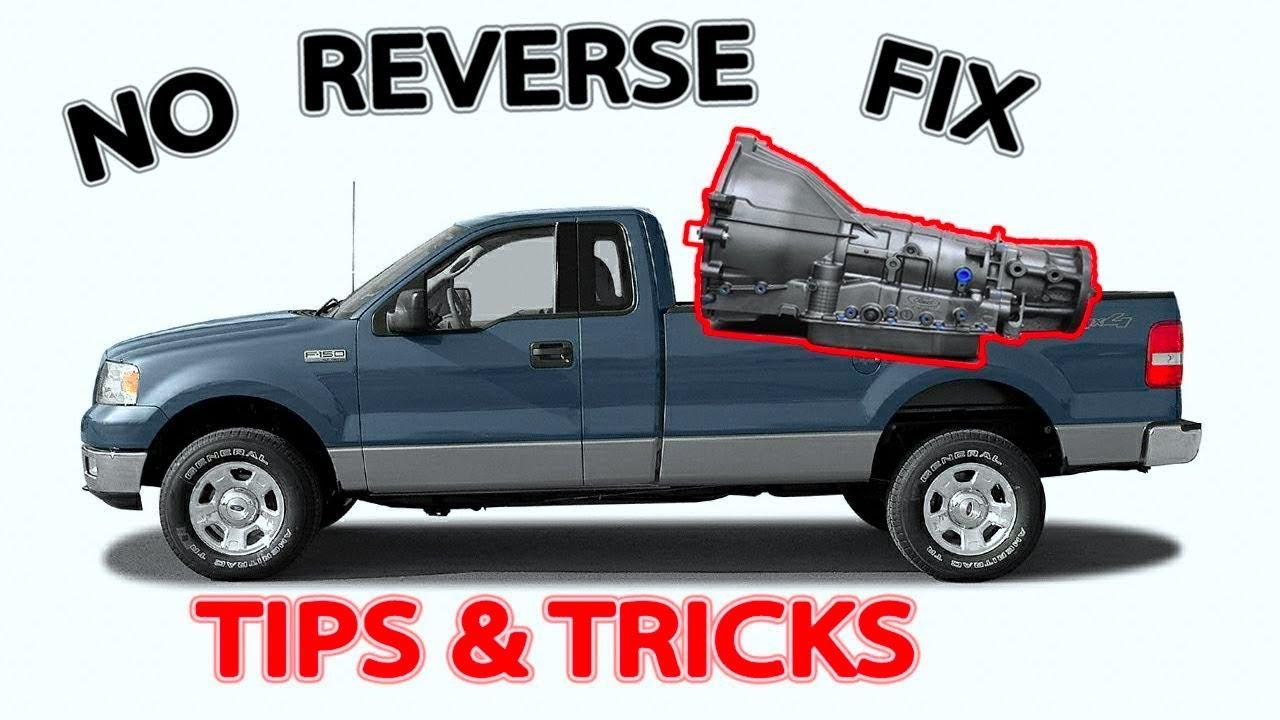 Ford F 150 No Reverse 4r75e Fixed Youtube