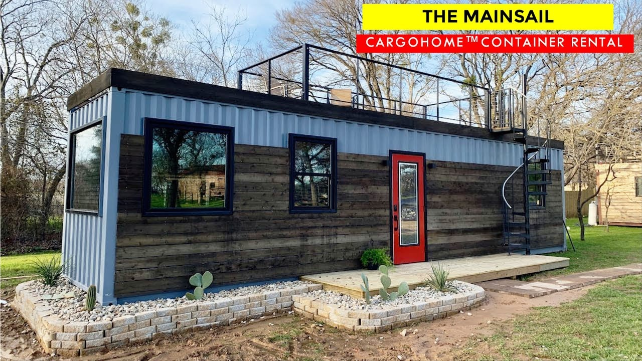Mainsail Tiny Shipping Container Home Airbnb By Cargohome
