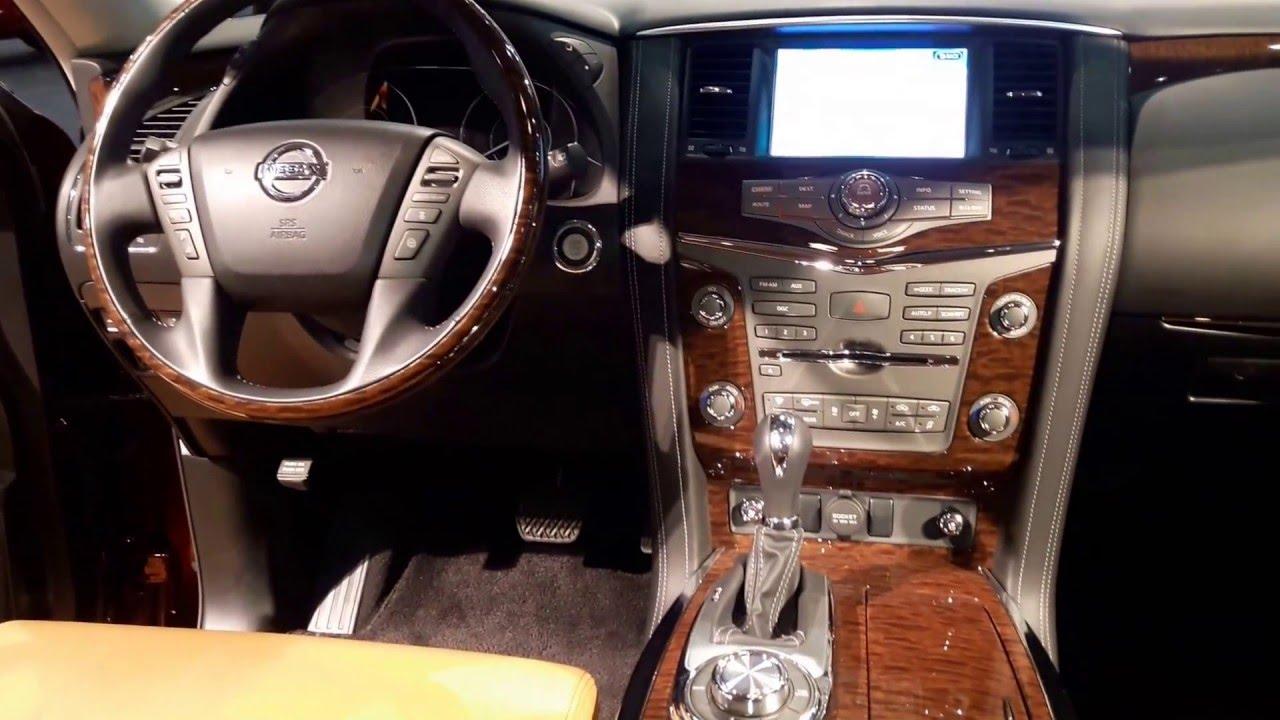 2016 Nissan Armada Platinum Interior