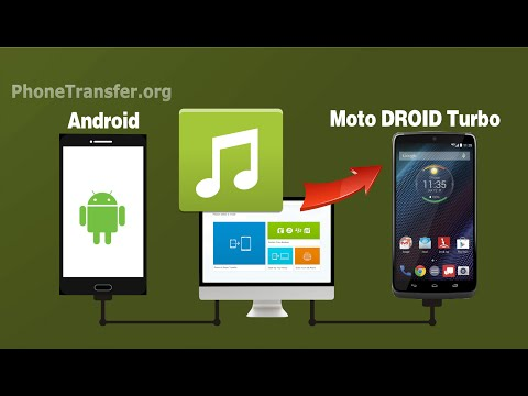 How To Add Music From Old Android Phone To Motorola DROID Turbo 2, Songs To Droid Razr HD