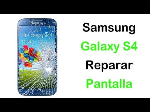 Pantalla Samsung Galaxy S4 Reparar Solo el Cristal (Repair Gorilla Glass)