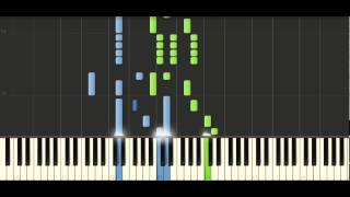 Schubert Sonata in G major, Op. 78, [D 894] No. 4 Rondeau Allegretto Piano Tutorial - Synthesia