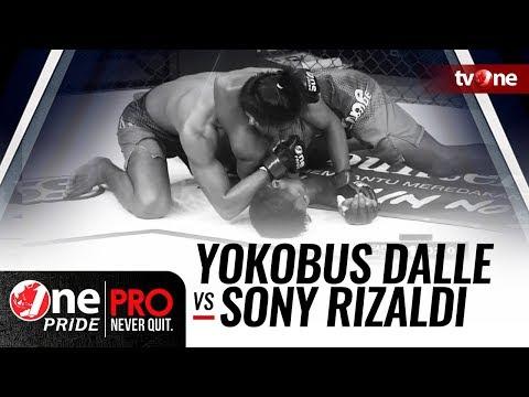 [HD] One Pride MMA 3: Yokobus Dalle VS Sony Rizaldi - FULL FIGHT