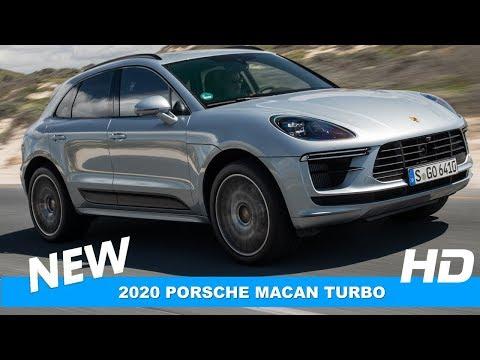 2020 Porsche Macan TURBO Silver - Interior, Exterior, Drive Review