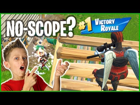 EPIC NO-SCOPE VICTORY ROYALE!