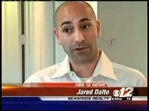 Jared Dalto Short Realtor On Cbs News West Palm Beach Florida