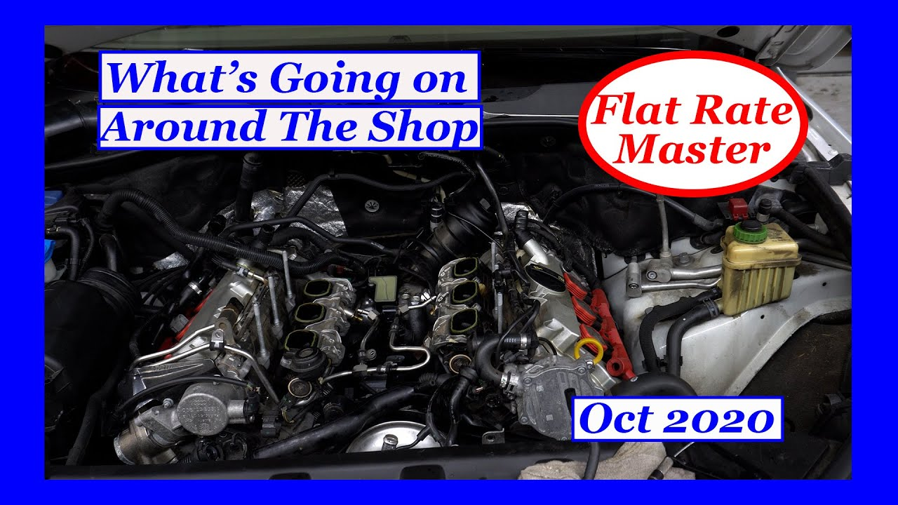 Whats Going on Around The Shop Oct 2020