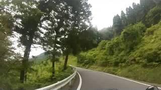 2014 06 14  五家荘キャンプツー 国道445号(美里~二本杉峠)