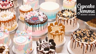 Behind The Scenes at C&D - Epic Cake Day! | Cupcake Jemma