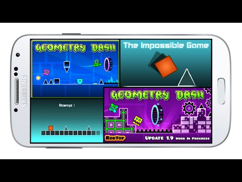 Geometry Dash\The Impossible Game (2.011\1.5.3) - App Android & IOS