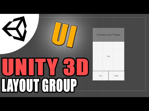 Using Layout Groups (UI v4.6) [Tutorial][C#] - Unity 3d