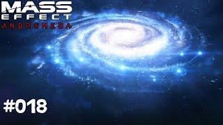 MASS EFFECT ANDROMEDA #018 - Die Galaxie - Let's Play Mass Effect Andromeda Deutsch / German